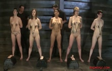 BDSM porn with busty bimbos and nipple clamps