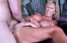 MILF Morgan Ray fucked to help her son