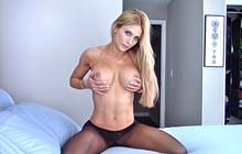 Haley Ryder sexy pantyhose teasing